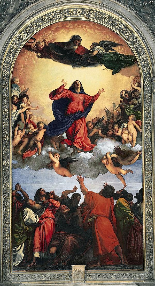《聖母の被昇天》1516–1518