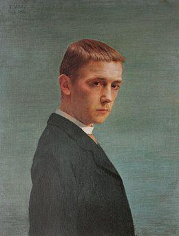 《20歳の自画像》1886年