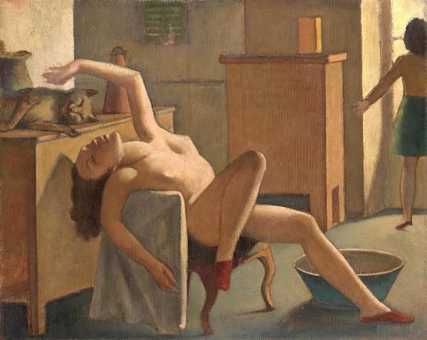 ※1:バルテュス《猫と裸婦》1948-1950年