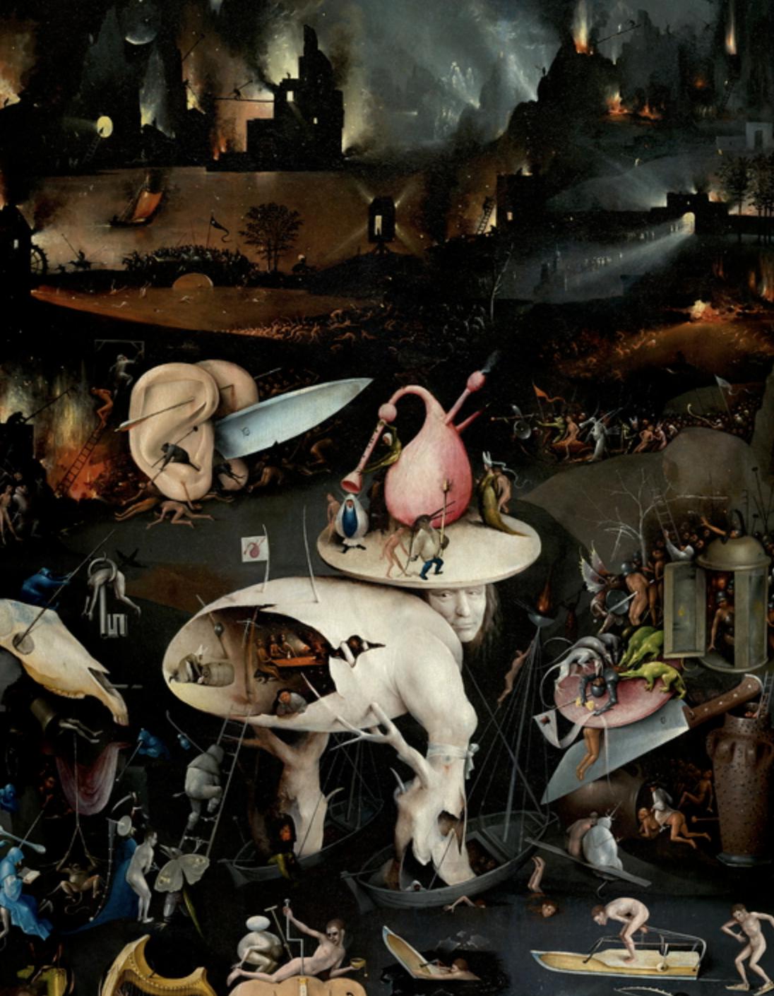 【美術解説】ヒエロニムス・ボス「初期フランドルの異端画家」