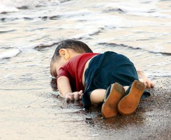 アラン・クラウディの溺死
