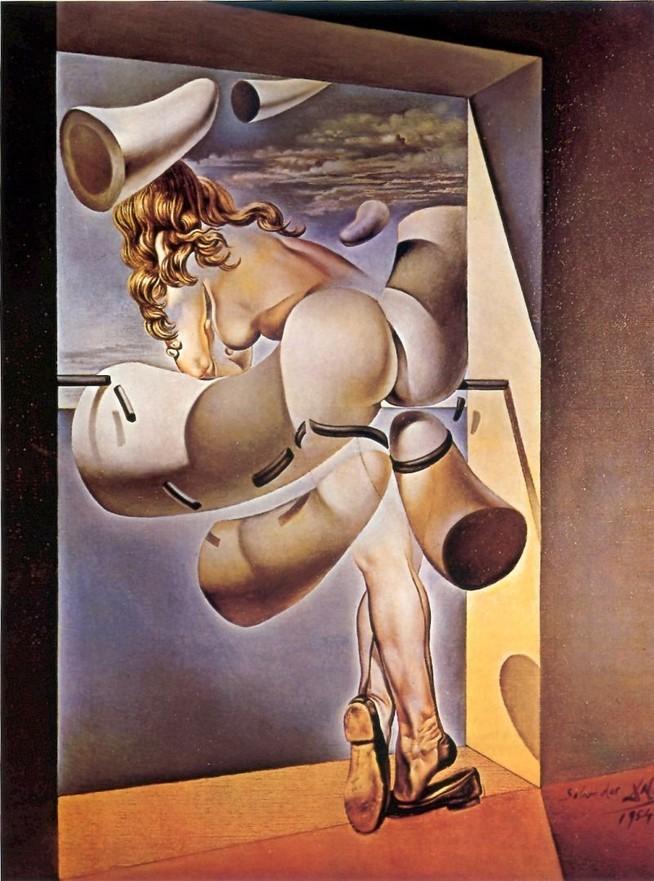 「自らの純潔に獣姦される若い処女」(1954年)