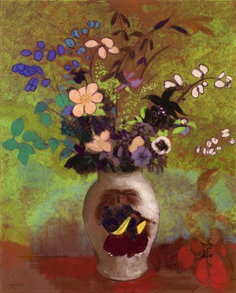 《日本の戦士と花瓶》 1905年