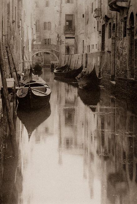 《ベネツィア運河》1894年