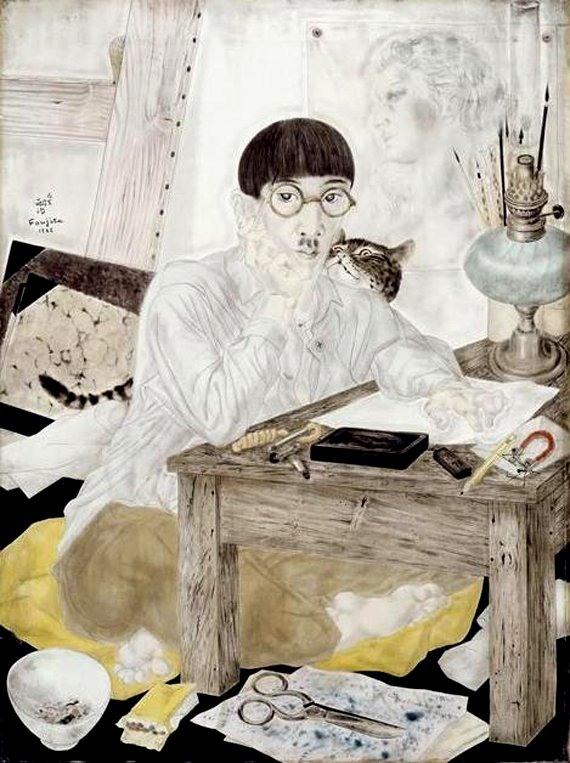 《自画像》1926年