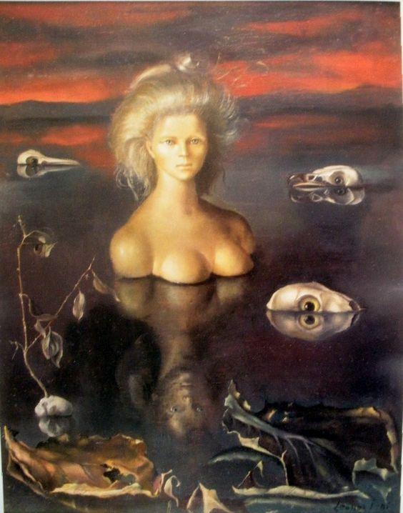レオノール・フィニ「世界の終わり」(1948年)