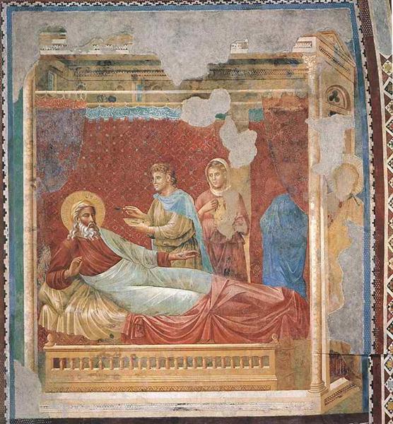 《イサクから拒否されるエサウ》1290年代前半