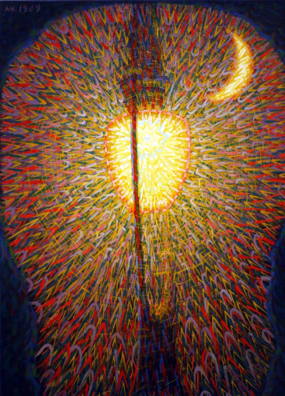 ジャコモ・バッラ「街灯」(1909年)