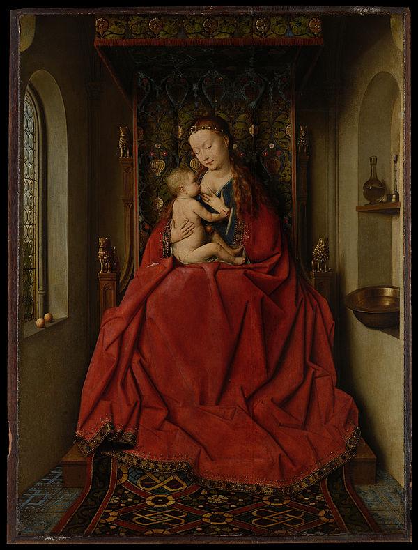 《ルッカの聖母》,1436年