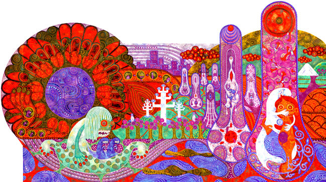谷口ナツコ「夢の中」(2004年)