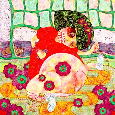 谷口ナツコ「ちくちくぺったん」(2007年)