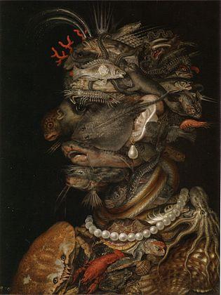 『四元素-水』1566年