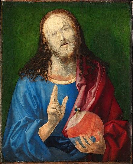 《サルバトール・ムンディ(未完成)》,1526年