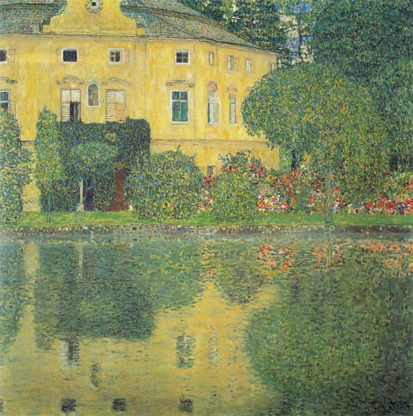 ※10:《Schloss Kammer am Attersee IV》 1910年