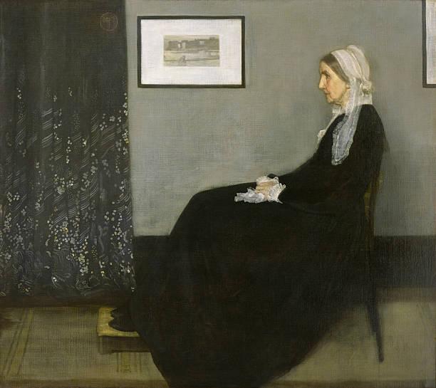 《灰色と黒のアレンジメント No.1》1871年