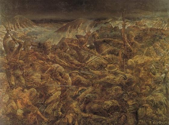 《アッツ島玉砕》1943年