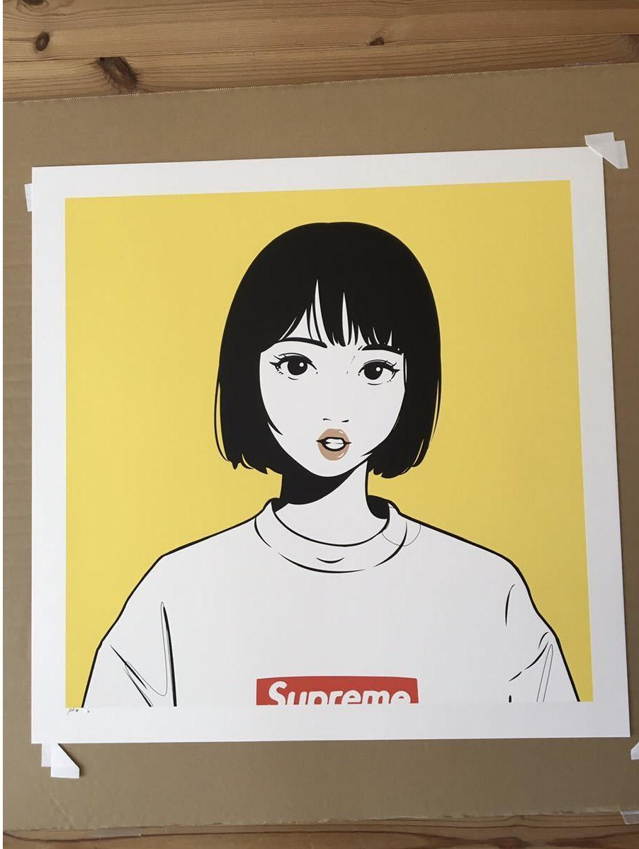 【オークション】Backside works.「Maneater 」シルクスクリーン作品が120万円で落札【価格】