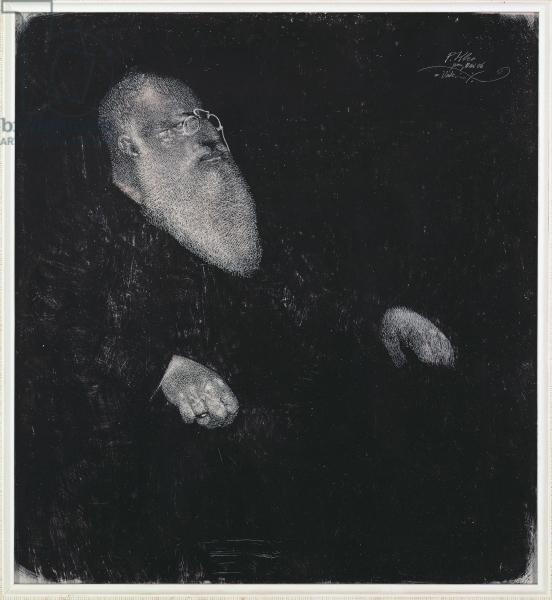 パウル・クレー「父の肖像」(1906年)