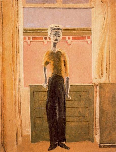 マーク・ロスコ「ポートレイト」(1939年)