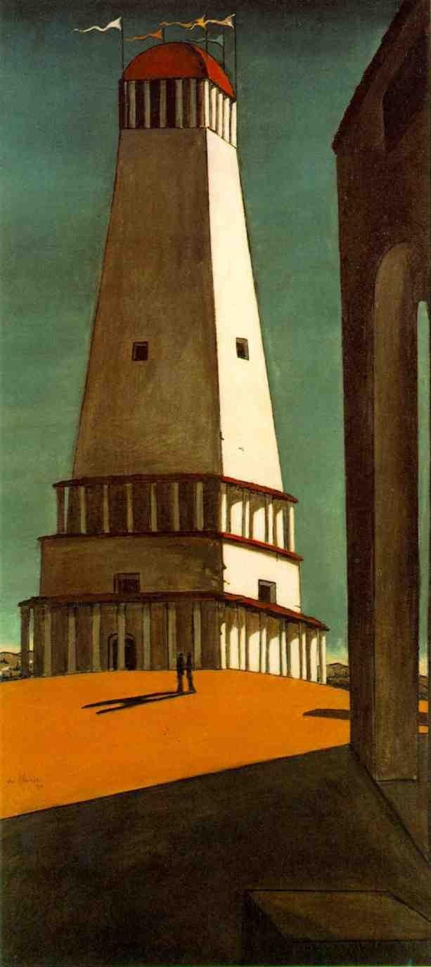 ジョルジョ・デ・キリコ「無限の郷愁」(1911年)