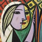 パブロ・ピカソ「鏡の前の少女」