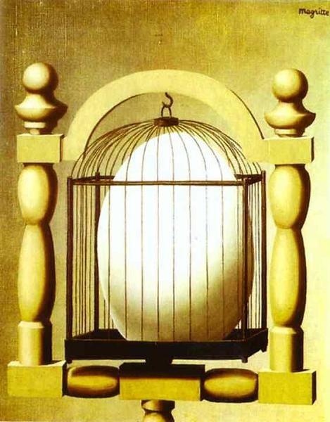 ルネ・マグリット「選択的親和力」(1933年)