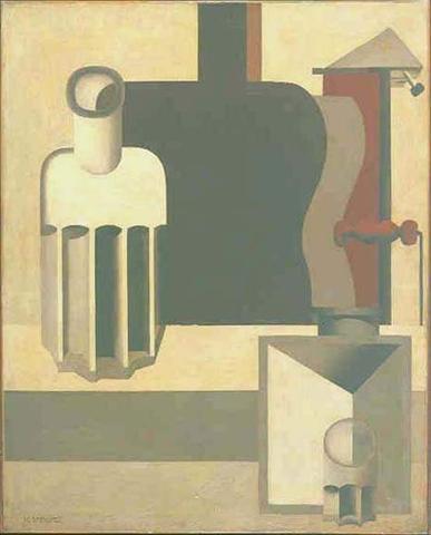 「垂直ギター」(1920年)