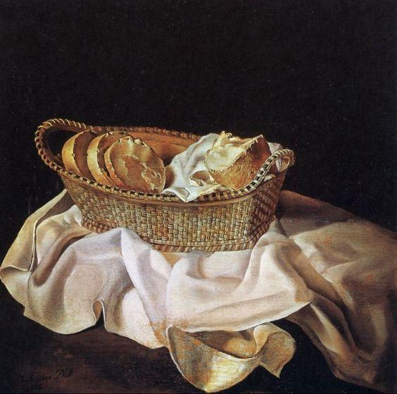 サルバドール・ダリ「パンの籠」(1926年)