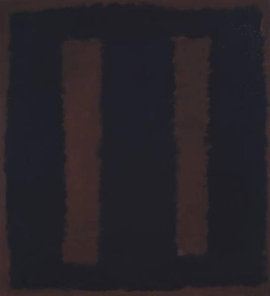 マーク・ロスコ『Black On Maroon』(1958年)