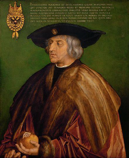 《マクシミリアン一世の肖像》