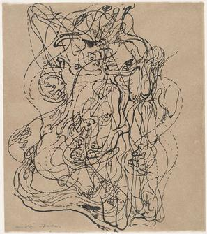 ※3:オートマティスムを使う代表的な作家はアンドレ・マッソン。その後、抽象表現主義へと受け継がれた。