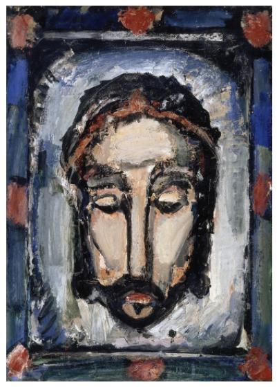 ジョルジュ・ルオー「Holy Shroud,」(1913年)