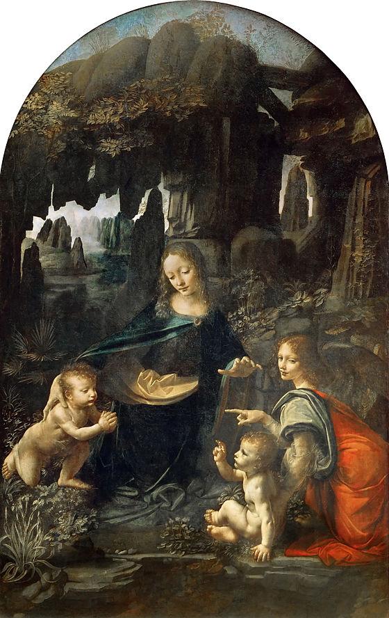ルーブル版《岩窟の聖母》1483-1486年