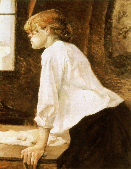 トゥールーズ・ロートレック「洗濯女」(1889年)