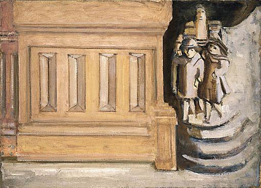 マーク・ロスコ《通りの風景》(1937年)