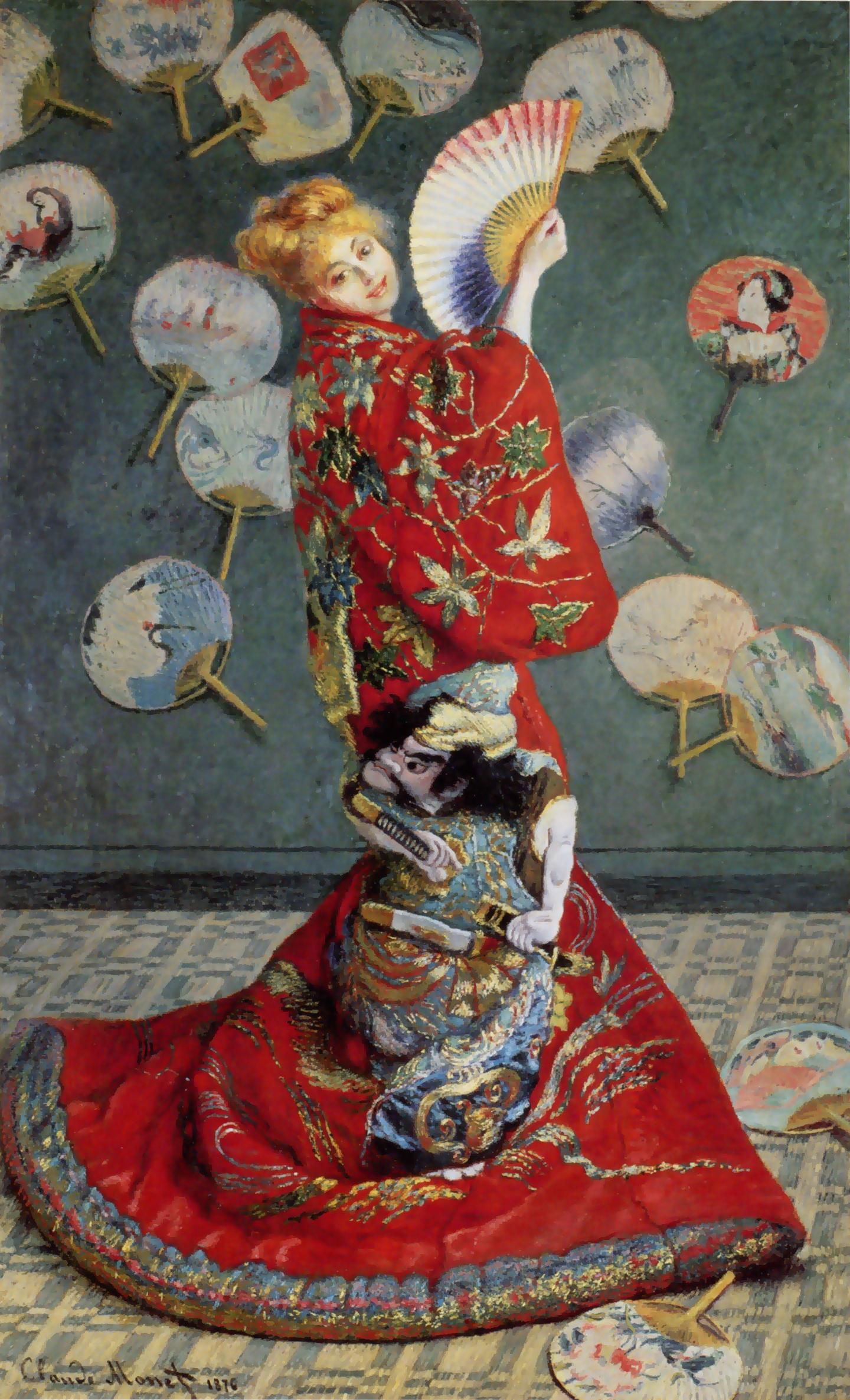 【作品解説】クロード・モネ「ラ・ジャポネーズ」ラ・ジャポネーズ /La Japonaise