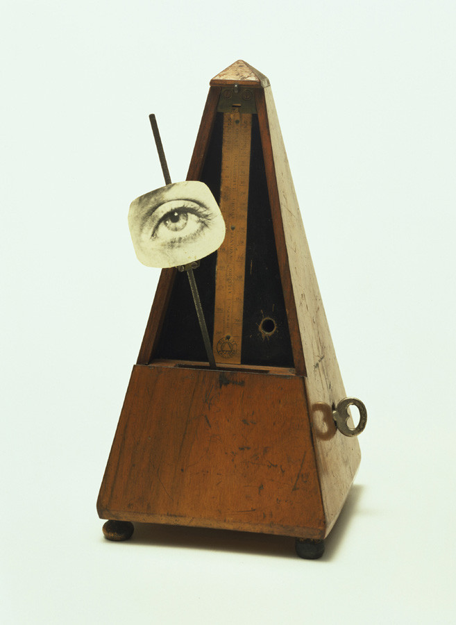 マン・レイ「破壊されるべきオブジェ」(1923年)