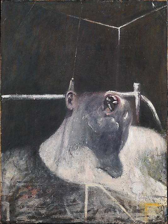フランシス・ベーコン「頭部Ⅰ」