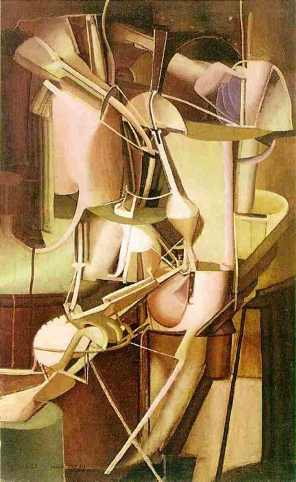 マルセル・デュシャン「花嫁」(1912年)