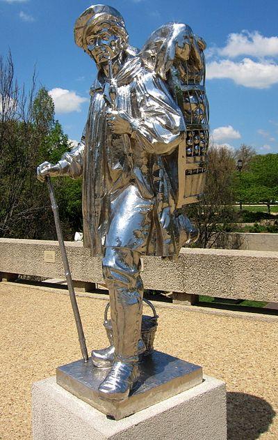 ※8:1987年にクーンズにより作られたKiepenkel像のレプリカ