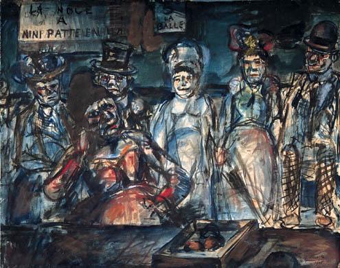 ジョルジュ・ルオー「虐殺」(1905年)