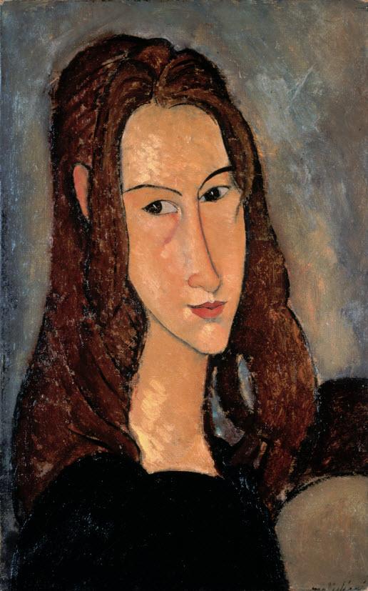 『ジャンヌ・エビュテンヌの肖像』(1918年)