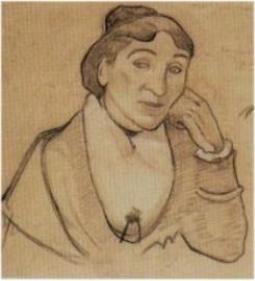 ポール・ゴーギャン「アルルの女」(1888年)