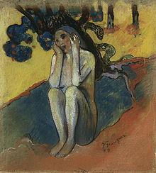 「ブルターニュのイヴ」(1889年0