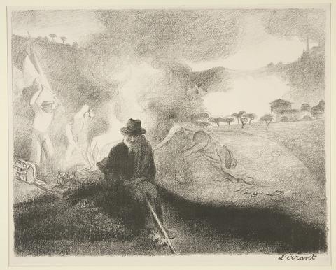 《放浪者》1896年