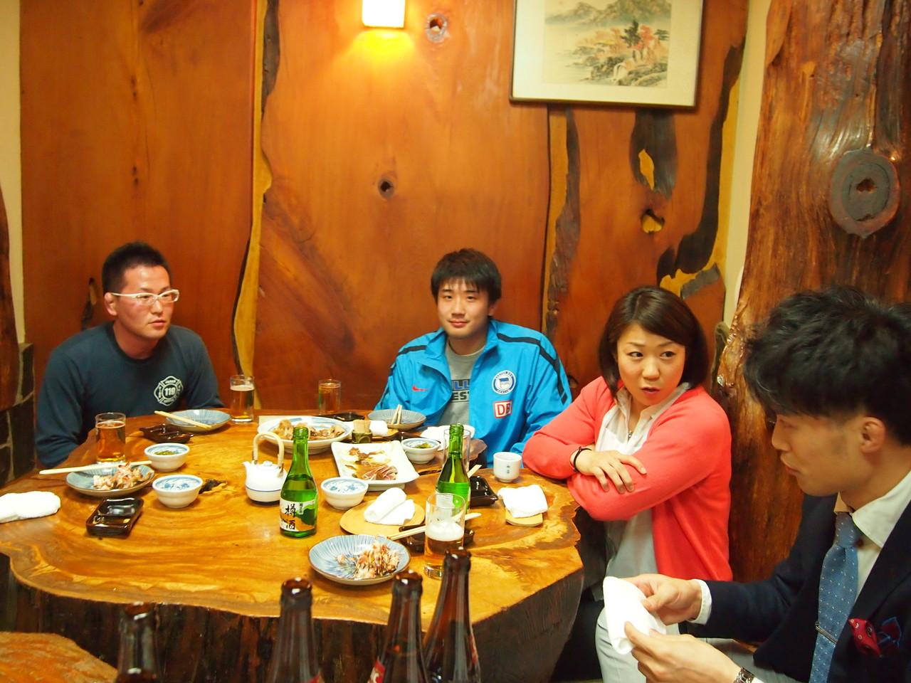 今年も松川OGに参加していただきました。ありがとう。