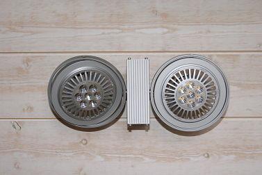 Luminaire : Ces spots SLV sont les mêmes que la photographie n°4, mais dans une autre position.