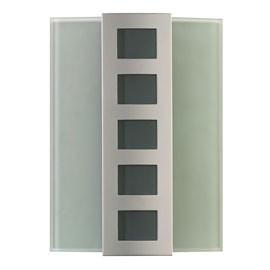 Électricité générale : Ce carillon en verre à piles  propose des mélodies très originales et s'intégrera dans votre intérieur sans que l'on puisse penser à sa fonction sonore.