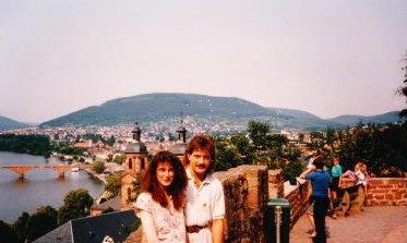 Glückliche Zeiten mit Claudia 1989
