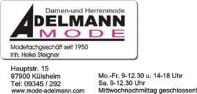 Siggi Seidel Partner Adelmann Mode